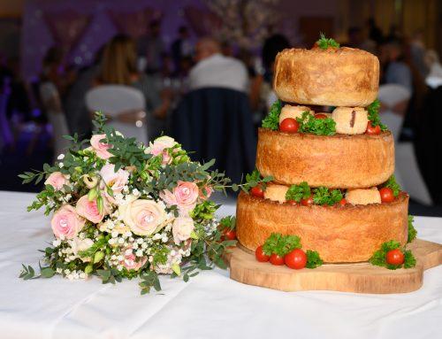 Potters 'Wedding Cake' Pork Pies are proving very popular